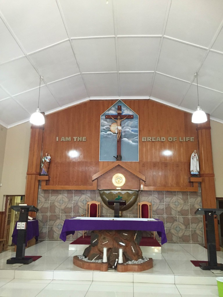 The Renovated Altar